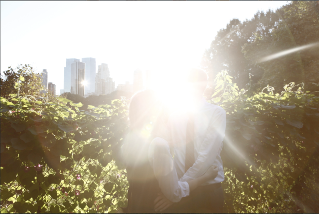 sunshine-engagement-photo